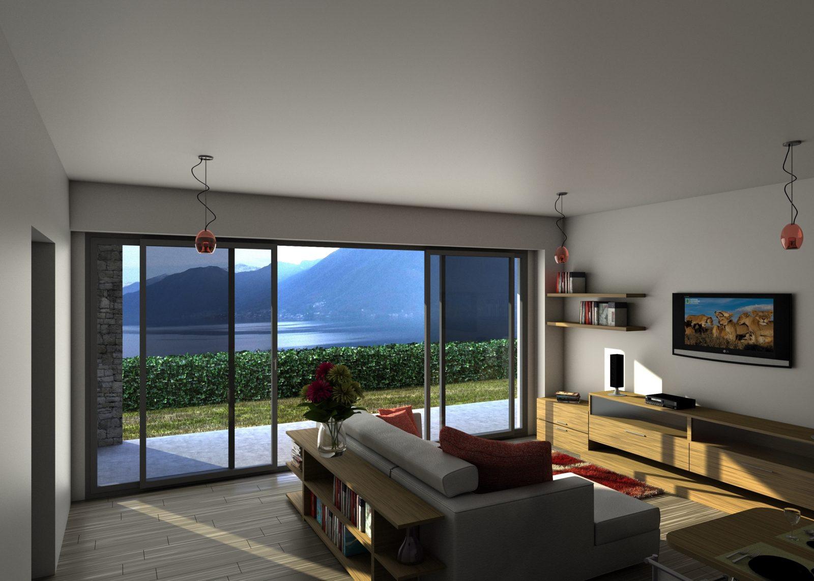 Argegno appartamenti moderni con piscina e vista agenzia for Appartamenti moderni