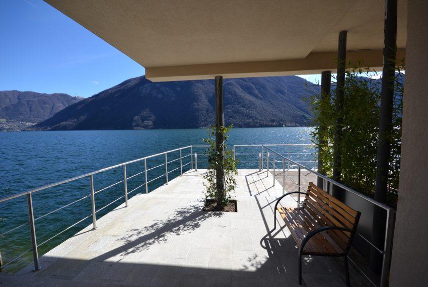 Lago di Lugano Porlezza appartamento a lago in vendita con attracco barca (20)