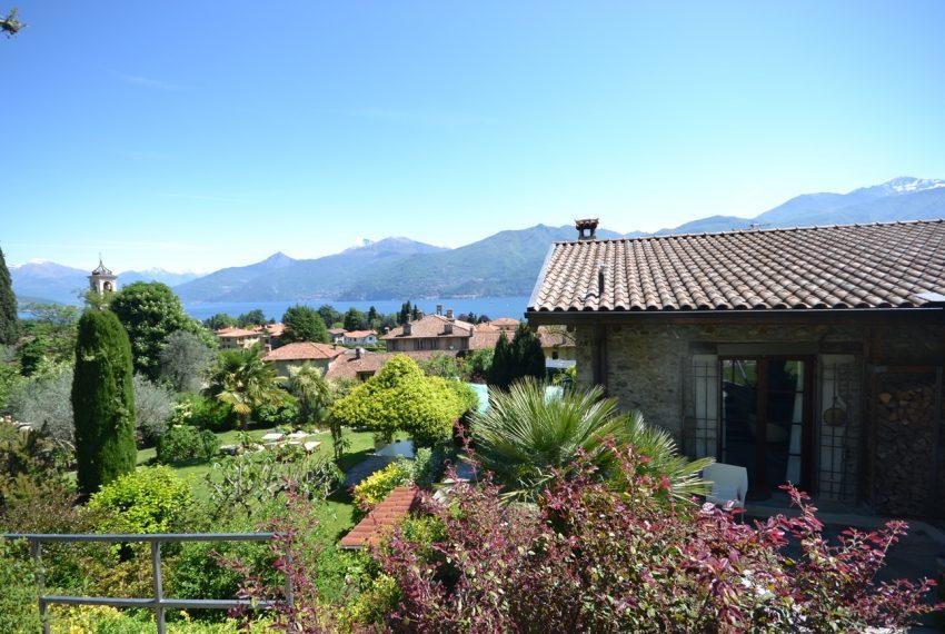 Lago di Como villa in sasso vendita a Griante - vista Bellagio (10)