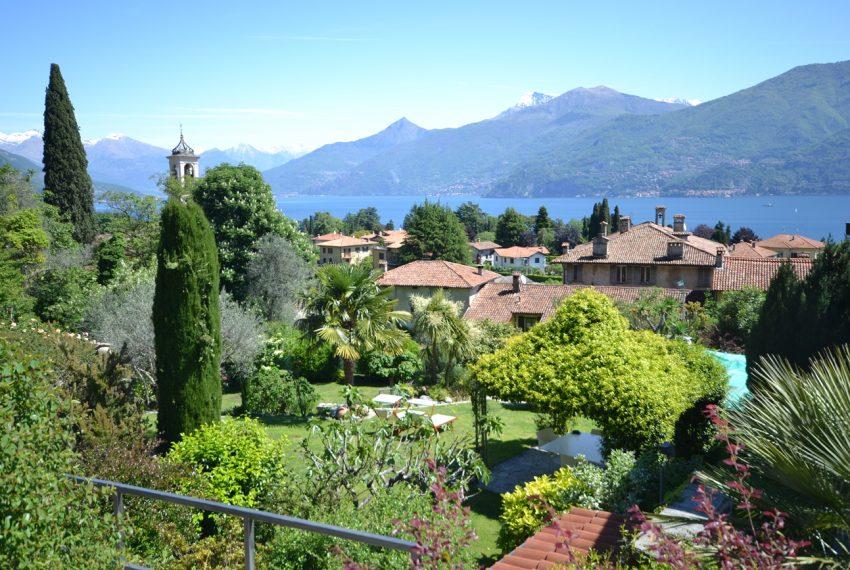 Lago di Como villa in sasso vendita a Griante - vista Bellagio (11)