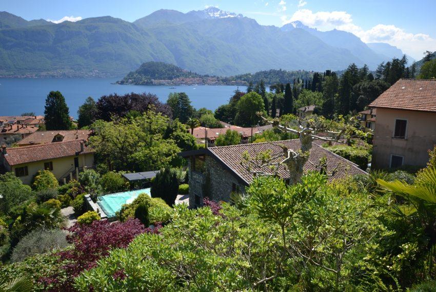 Lago di Como villa in sasso vendita a Griante - vista Bellagio (14)