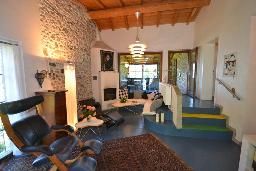 Lago di Como villa in sasso vendita a Griante - vista Bellagio (22)