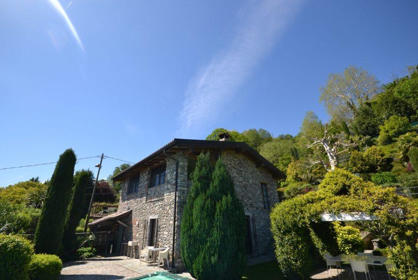 Lago di Como villa in sasso vendita a Griante - vista Bellagio (9)