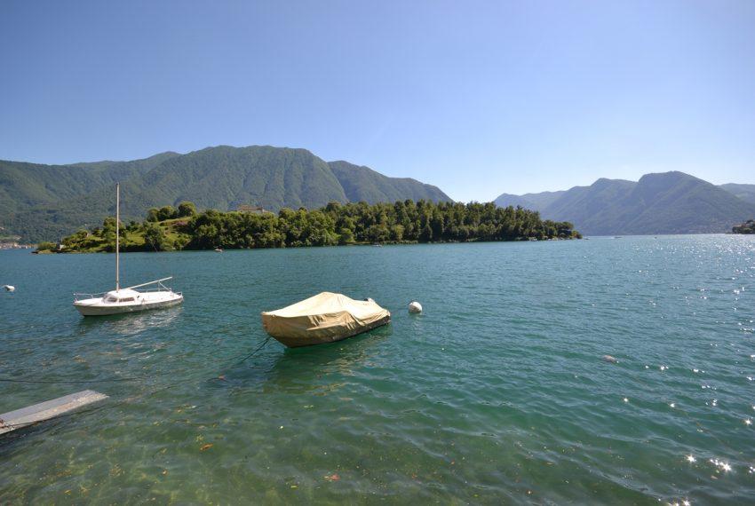 Lago Como Ossuccio - Tremezzina. Casa con giardino a lago in vendita (2)