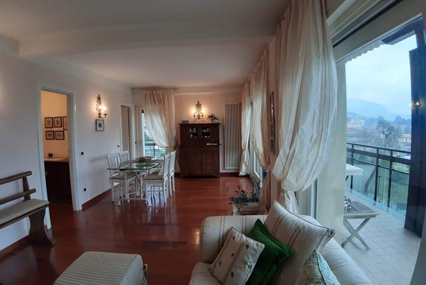 Lago di Como lenno ampio appartamento in residence con piscina e vista lago (2)