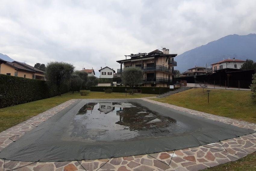 Lago di Como lenno ampio appartamento in residence con piscina e vista lago (9)