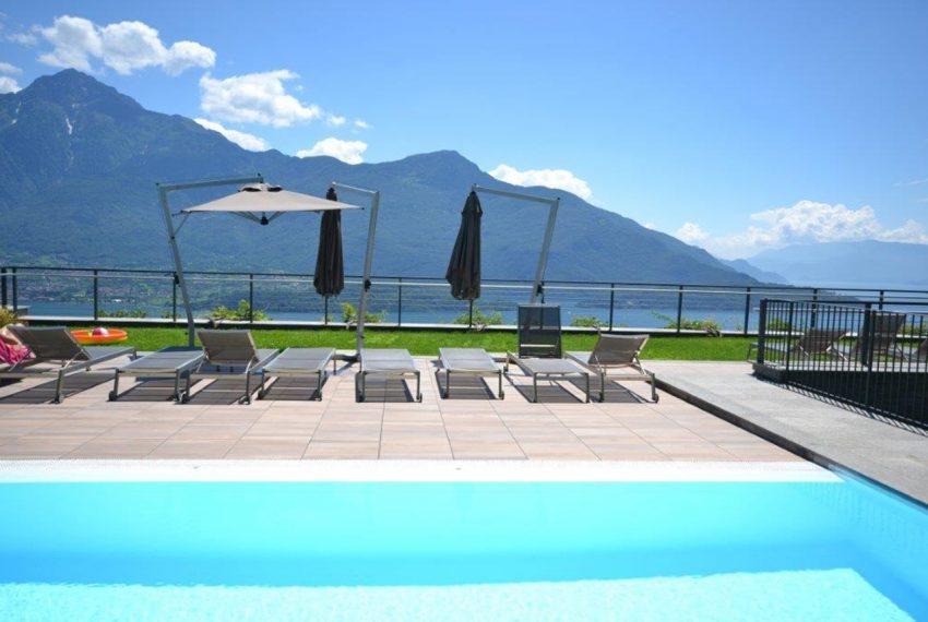 vercana appartamento in residence con piscina vista lago (5)