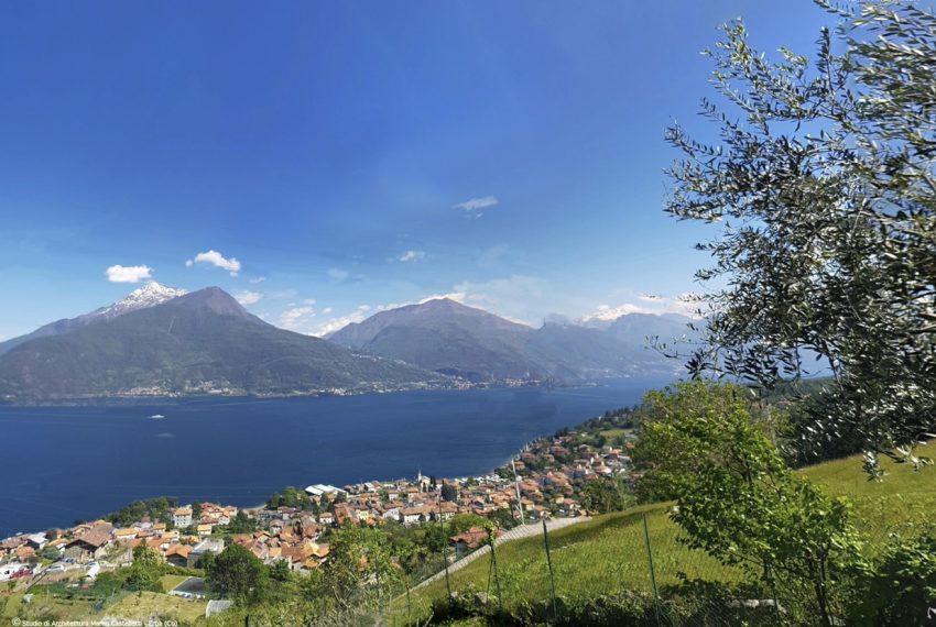 Lago di Como rustico con terreno da ristrutturare con progetto già esistente e approvato (3)