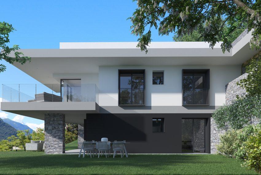 Lago di Como vercana - Domaso moderni appartamenti in residence con piscina e vista mozzafiato (4)