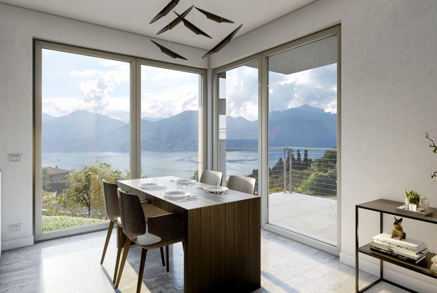Lago Como Menaggio ville moderno con giardino, piscina e vista lago bellissima (1)