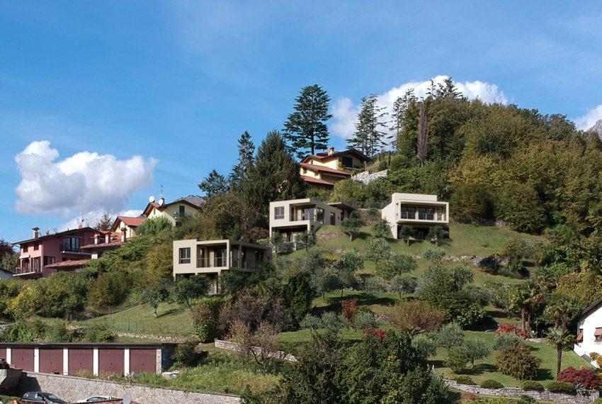 Lago Como Menaggio ville moderno con giardino, piscina e vista lago bellissima (3)