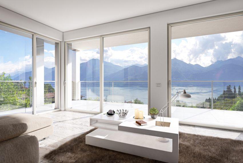 Lago Como Menaggio ville moderno con giardino, piscina e vista lago bellissima (4)