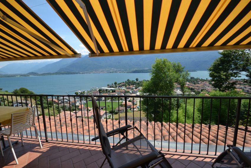 Lago di Como vercana appartamento in residence con piscina (1)