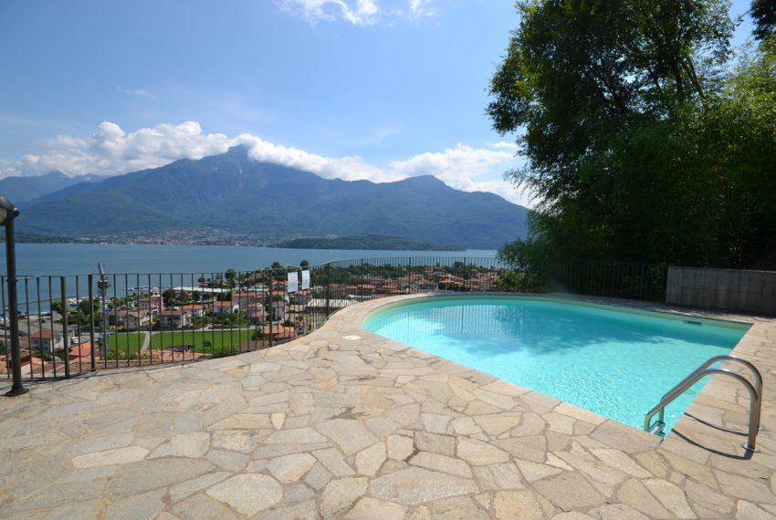 Lago di Como vercana appartamento in residence con piscina (12)
