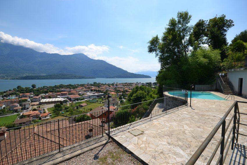 Lago di Como vercana appartamento in residence con piscina (14)