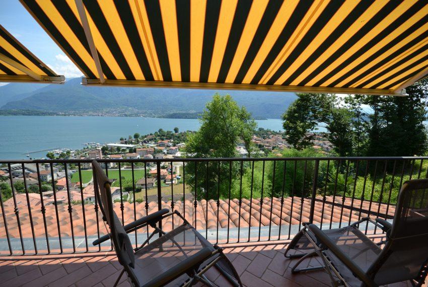 Lago di Como vercana appartamento in residence con piscina (17)