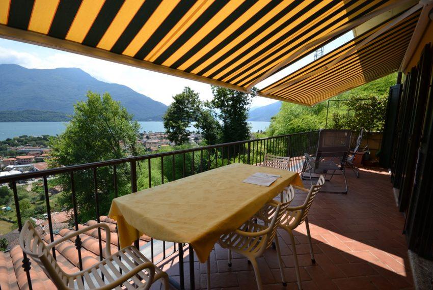Lago di Como vercana appartamento in residence con piscina (6)