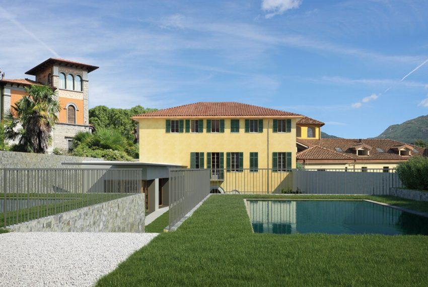 Menaggio appartamenti in centro con piscina e vista lago (1)
