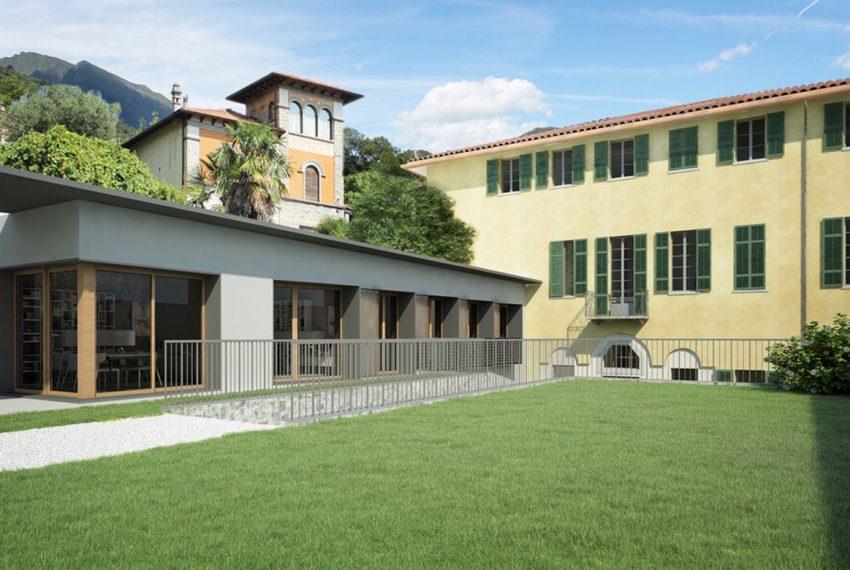 Menaggio appartamenti in centro con piscina e vista lago (2)