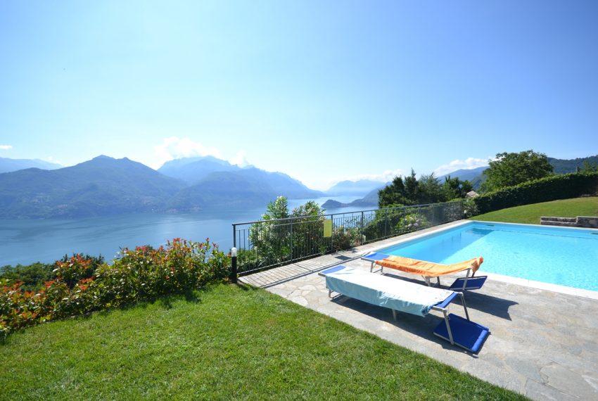 Menaggio collinare appartamento in residence con piscina e vista lago (17)