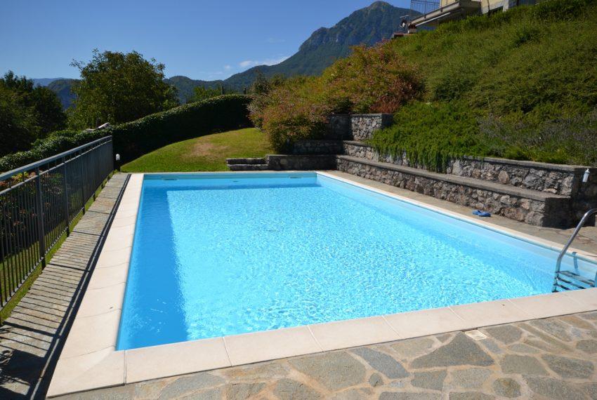 Menaggio collinare appartamento in residence con piscina e vista lago (2)