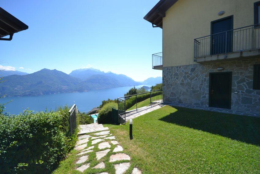 Menaggio collinare appartamento in residence con piscina e vista lago (5)