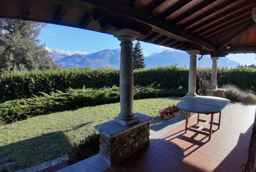 Menaggio villa indipendente con giardino e autorimessa. Vista lago. Lago di Como (8)