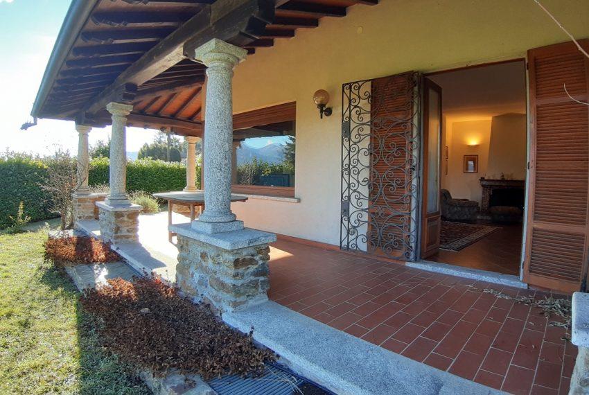 Menaggio villa indipendente con giardino e autorimessa. Vista lago. Lago di Como (9)