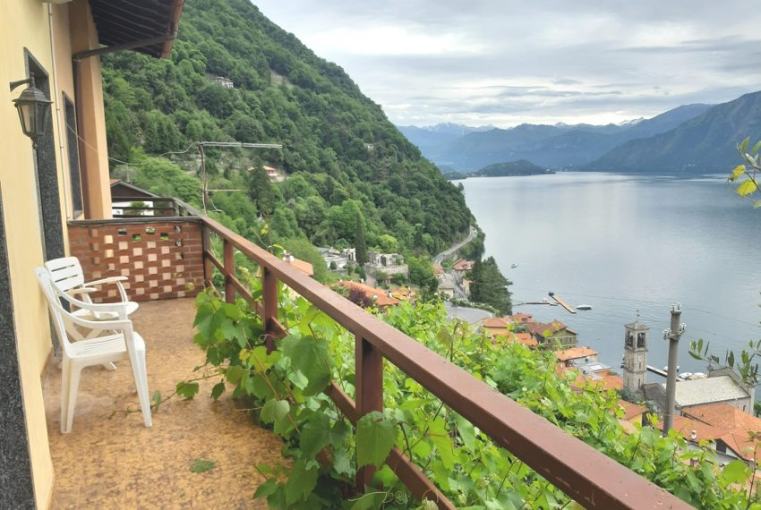 Argegno appartamento in vendita con giardino e vista lago stupenda (9)