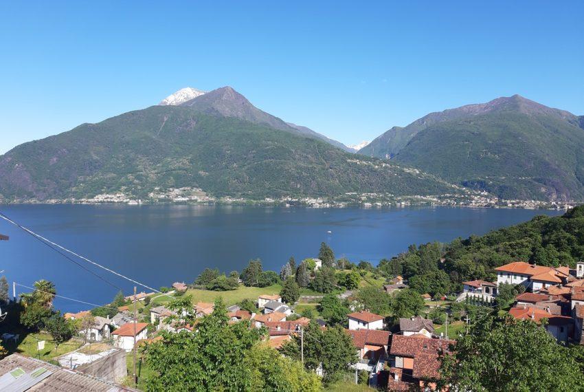 Lago Como appartamento in rustico con piscina, terrazzo e vista lago (1)