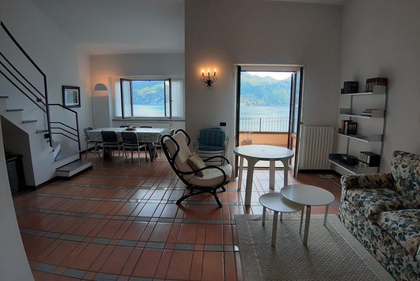 Menaggio appartamento in residence con piscina, ampio terrazzo, vista lago, garage. (16)